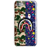 BAPE Camouflage & BBC Stars with Shark iPhone Case/Skin