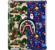 BAPE Camouflage & BBC Stars with Shark iPad Case/Skin