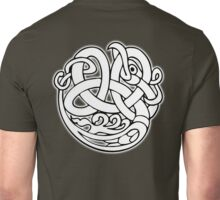 Celtic knot, Snake, dragon, patterns, abstract, celtic, celts, geometric, Unisex T-Shirt