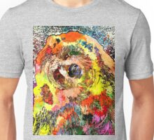 Grizzly Bear Grunge Unisex T-Shirt