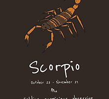 Star Signs: Scorpio by Awful Artwork