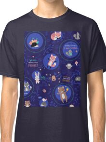 Night woodland Classic T-Shirt
