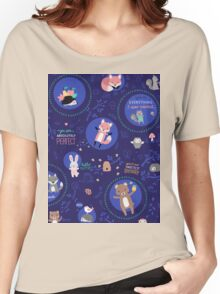 Night woodland Women's Relaxed Fit T-Shirt