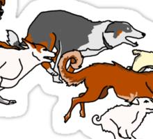 Wills Doggies Sticker