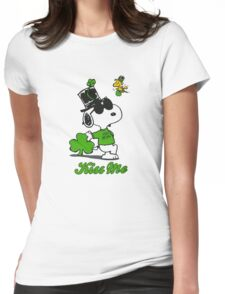 Snoopy Irish Womens Fitted T-Shirt