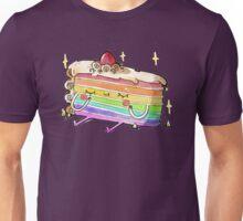 Rainbow Cake Unisex T-Shirt