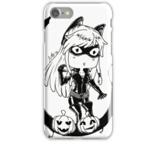Inktober - catwoman iPhone Case/Skin