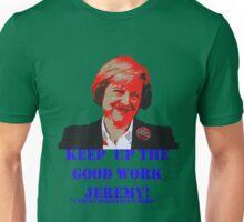 "Theresa ""I love Jeremy"" May Unisex T-Shirt"