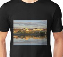 Waterside Reflections On The River Foyle Unisex T-Shirt