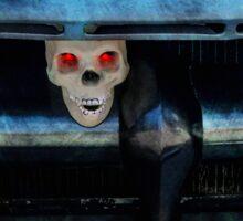 Ford Truck Skeleton Sticker