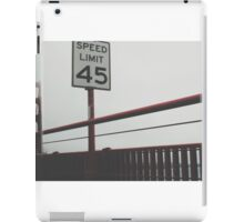 Obey the law. iPad Case/Skin