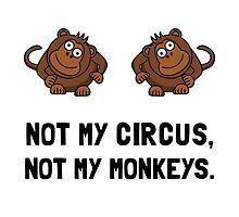 Circus Monkeys by AmazingMart