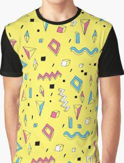 Memphis Art Graphic T-Shirt