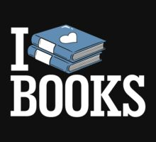 I Love Books by BootsBoots