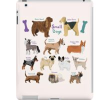 12 Different Small Dogs  iPad Case/Skin