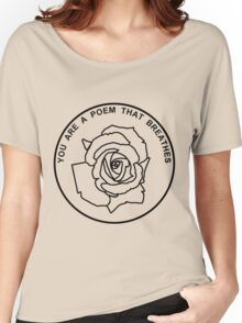 Poem Women's Relaxed Fit T-Shirt