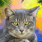 Kitty Kat Under the Palms  by Heather Friedman