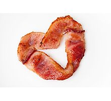 Bacon Love Photographic Print