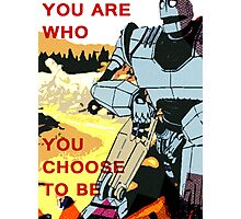Iron Giant Photographic Print