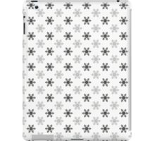 Snowflake Pattern | Black and White iPad Case/Skin