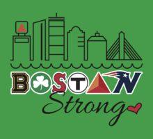 BOSTON Strong Skyline One Piece - Short Sleeve