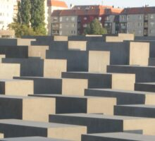 Berlin Holocaust Monument Sticker