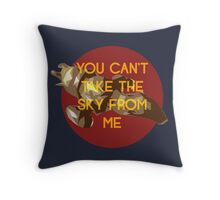 i don't care, i'm still free Throw Pillow