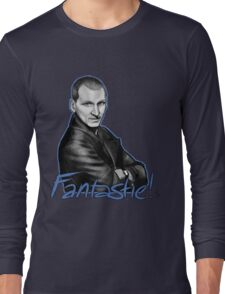 Ninth Doctor Who Christopher Eccleston Fantastic Long Sleeve T-Shirt