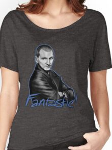 Ninth Doctor Who Christopher Eccleston Fantastic Women's Relaxed Fit T-Shirt