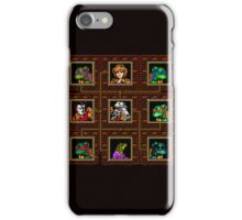 tmnt 8 bit textured iPhone Case/Skin