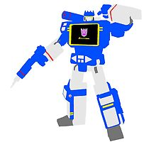 Soundwave Blocky by Dane Flitton