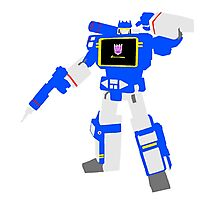 Soundwave Blocky Photographic Print