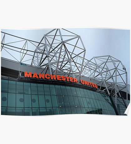 Manchester United, Old Trafford, Art Print Poster