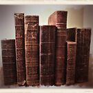 """""""Books in Brown""""... prints and products by © Bob Hall"""
