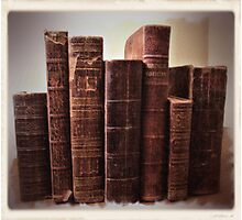 """Books in Brown""... prints and products Photographic Print"