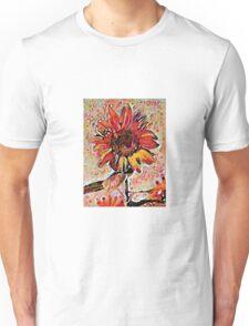 Sunflower abstract 7 Unisex T-Shirt