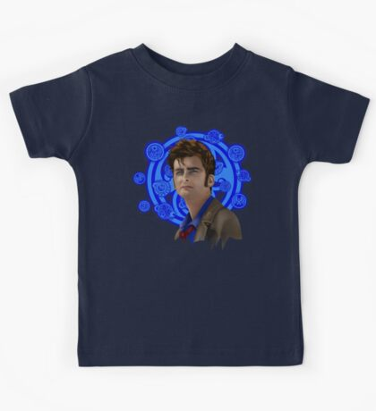 time and space traveller 10th generation Kids Tee