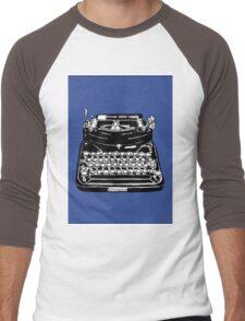 Remington Typewriter Men's Baseball ¾ T-Shirt