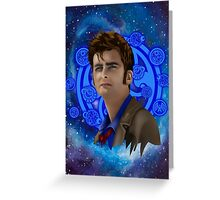 time and space traveller 10th generation Greeting Card