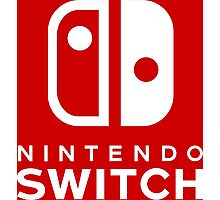 Nintendo Switch Hi-Res Logo Photographic Print