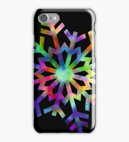 Happy Snowflake iPhone Case/Skin