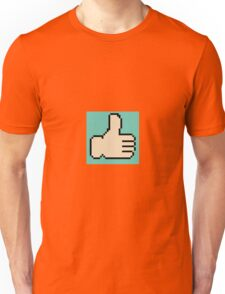 8-bit Thumbs Up Emoji Unisex T-Shirt