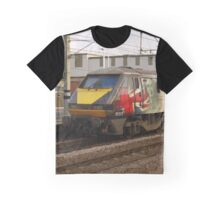 Virgin Trains East Coast 91111 at Peterborough Graphic T-Shirt