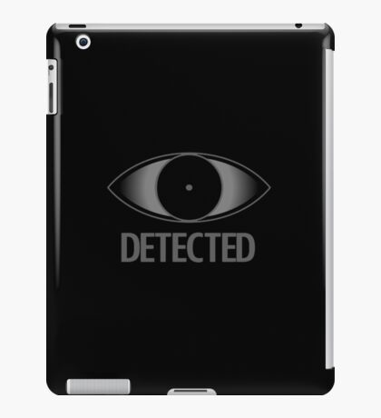 Skyrim Detected iPad Case/Skin