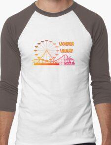 Wonder Wharf Men's Baseball ¾ T-Shirt
