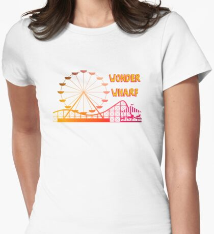 Wonder Wharf Womens Fitted T-Shirt