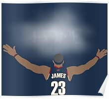 James Return to Cavaliers Poster