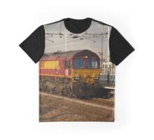 DB Schenker 66040 at Peterborough Graphic T-Shirt
