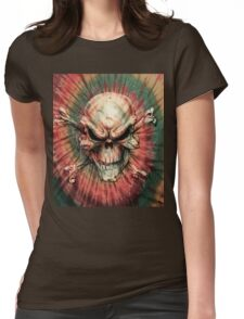 Tie Dye 11 Womens Fitted T-Shirt