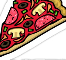 Work Out Pizza Sticker